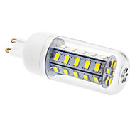 G9 Bombillas LED de Mazorca T 36 leds SMD 5730 Blanco Fresco 450-490lm 6000K AC 100-240V