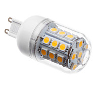 Недорогие -3 W 3000 lm G9 LED лампы типа Корн T 30 Светодиодные бусины SMD 5050 Тёплый белый 220-240 V