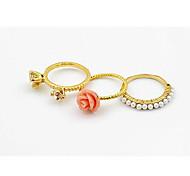 Korea Style Flower Shell Ring