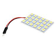 T10 BA9S 24x5050SMD Super Intensity White LED Replacement Kit (12V)