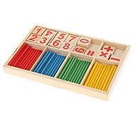 Digital Computation Wooden Stick & Block Education Toy