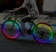 abordables -luces de la rueda Luces Tiltilantes para Tapas de Válvulas LED Ciclismo Baterías Lumens Batería Ciclismo
