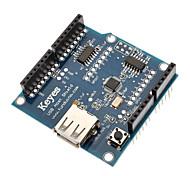 Недорогие -USB модуль 2.0 хост щит для (для Arduino)