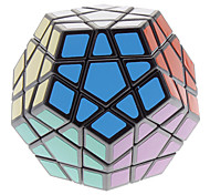 cheap -Rubik's Cube Megaminx Smooth Speed Cube Magic Cube Puzzle Cube Professional Level Speed Gift Classic & Timeless Girls'