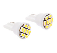 abordables -SO.K T10 Coche Bombillas SMD LED 30-60 lm Luces interiores For Universal