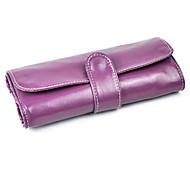 Aufbewahrung für Make-Up Kosmetik Tasche / Aufbewahrung für Make-Up einfarbig 20.5 x 12.5 x 3.0 Schwarz
