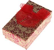 Недорогие -Коробки для бижутерии Бумага Красный