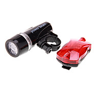 Bike Lights Front Bike Light Rear Bike Light LED Cycling Waterproof LED Light AAA 100 Lumens Battery Camping/Hiking/Caving Cycling/Bike
