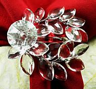 Недорогие -Акриловые лист Свадьба Салфетка Кольцо набор из 12, акриловые Dia 4.5cm