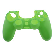 Pure Color Silicone Skin Case for PS4 Controller