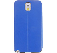 Skylight Design Smooth PU Leather Hard Back Cover Protective Pouches for Samsung Galaxy Note3 N9000