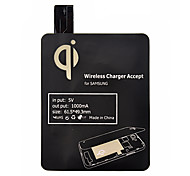 economico -Nero Qi standard Wireless Charging Pad Receiver per Samsung Galaxy S4