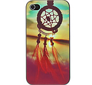 cheap -Case For iPhone 4/4S Apple Back Cover Hard PC for iPhone 4s/4