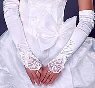 Opera Length Fingerless Glove Elastic Satin Bridal Gloves Party/ Evening Gloves Spring Summer Fall