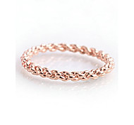 Недорогие -новый стиль веревка форма стильное кольцо элегантный классический женский стиль