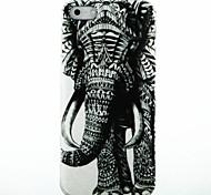 Direito Padrão Elephant caso capa dura para iPhone 5/5S