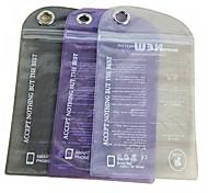 Недорогие -Сплошной цвет водонепроницаемый пластиковый пакет для iPhone 5/5S (случайный цвет)