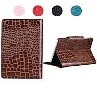 cheap -Case For iPad Mini 3/2/1 with Stand Magnetic Full Body Cases Solid Color PU Leather for iPad Mini 3/2/1