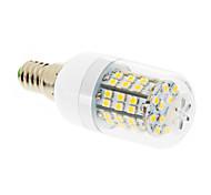 abordables -E14 Bombillas LED de Mazorca T 60 leds SMD 2835 Blanco Cálido 550-680lm 2500-3500K AC 100-240V
