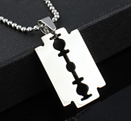 cheap -Men's Stainless Steel Pendant Necklace - Unique Design Fashion Others Necklace For Christmas Gifts Party Gift Daily
