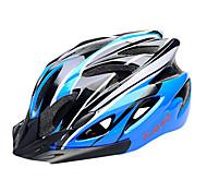 Недорогие -FJQXZ EPS + PC синий и черный интегрального под давлением Велоспорт Шлем (18 Вентс)