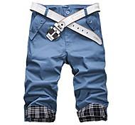 Недорогие -Мужская Мода Стильный Короткие штаны