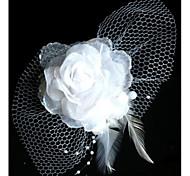 Недорогие -Мода невесты Чистая Пряжа головной убор цветок Шпилька