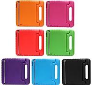 abordables -Funda Para iPad 4/3/2 Antigolpes con Soporte Segura para Niños Funda Trasera Color sólido EVA para iPad 4/3/2