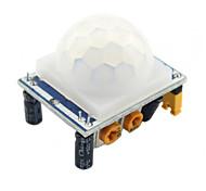 Недорогие -1шт высокое качество hcsr501 настроить инфракрасный датчик движения датчика движения пир