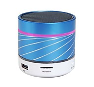 S07U Portable Handsfree Wireless Bluetooth Speaker with TF Card Reader and LED Colorful Light