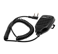 cheap -Microphone for Walkie Talkie KMC-21 w/ Clip - Black (2.5mm / 3.5mm Jack)