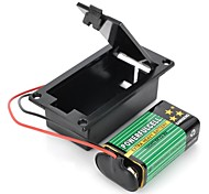 cheap -DIY 9V Battery  T-Type Buckle Case Set