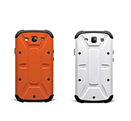 For Samsung Galaxy Case Shockproof Case Back Cover Case Armor PC Samsung S3