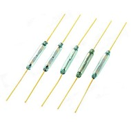cheap -Reed Switch Magnetically Controlled Switch - Golden (5 PCS)