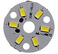 3W 250-300LM LED Module fredda luce bianca 5730SMD Integrati (9-12V)