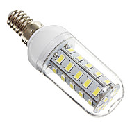 4W E14 Bombillas LED de Mazorca 36 leds SMD 5730 Blanco Fresco 350-400lm 6000-6500K AC 100-240V
