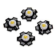 Zdm ™ 1 Вт мощностью 80 лм с теплым белым цветным светодиодным модулем с алюминиевым корпусом (3,0-3,4 В, 5 шт.)