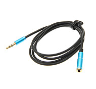 cheap -1M 3.3FT Auxiliary Aux Audio Cable 3.5mm Jack Male to Female Cord