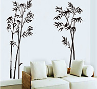 Ink Painting Bamboo Pattern Wall Sticker(1PCS)