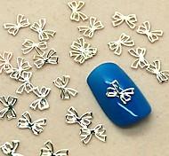 Недорогие -200шт прекрасный бабочкой дизайн ломтик металл украшение искусства ногтя