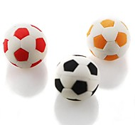 Petit mignon Football gomme en forme (couleur aléatoire x 2 pcs)