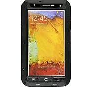Недорогие -Кейс для Назначение SSamsung Galaxy Samsung Galaxy Note Защита от пыли Защита от удара Водонепроницаемый Чехол броня Металл для Note 3