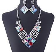 cheap -Alloy Earrings Necklaces For Party Daily Casual Wedding Gifts