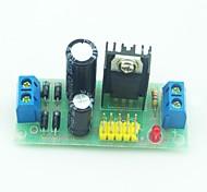 Недорогие -L7805 переменное напряжение постоянного тока регулятор стабилизатор модуль черный