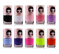 1шт конфеты цвет охраны окружающей среды лак для ногтей № 1-17 (разных цветов)