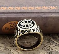 $ vintage anéis da faixa forma dos homens