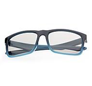 m&k polarizó los vidrios de la luz modelado 3d retardador para 3d TV (azul)