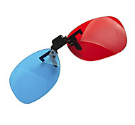 reedoon красный синий бок о бок близорукости Зажим костюмы 3d очки для компьютера