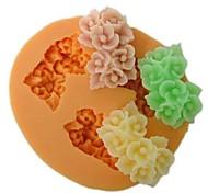 baratos -Molde Flor Chocolate Torta Bolo Silicone Amiga-do-Ambiente Faça Você Mesmo Dia de Ação de Graças