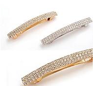 cheap -Women's Rhinestone Alloy Hair Clip Silver Golden